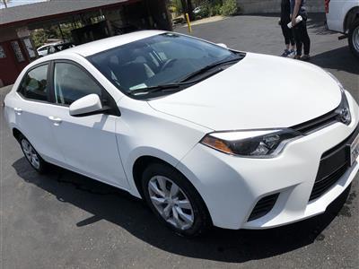 2016 Toyota Corolla lease in Sunnyvale,CA - Swapalease.com