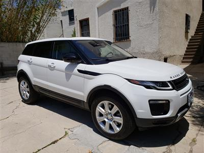 2017 Land Rover Range Rover Evoque lease in Los Angeles,CA - Swapalease.com