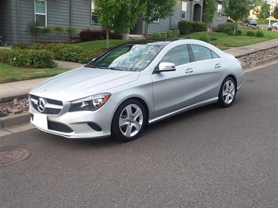 2018 Mercedes-Benz CLA Coupe lease in Salem,OR - Swapalease.com