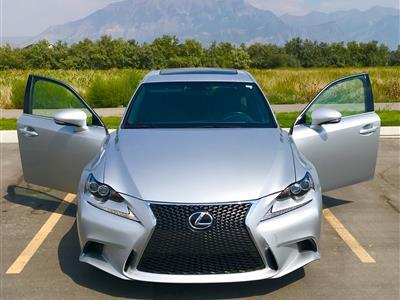 Lexus is300 f sport lease