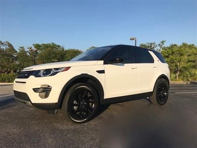 2017 Land Rover Discovery Sport lease in Naples,FL - Swapalease.com