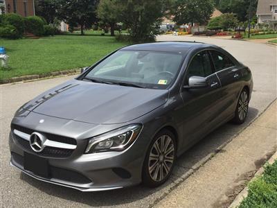 2017 Mercedes-Benz CLA Coupe lease in Chesapeake,VA - Swapalease.com