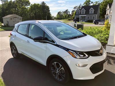 2017 Chevrolet Bolt EV lease in Kingston,MA - Swapalease.com