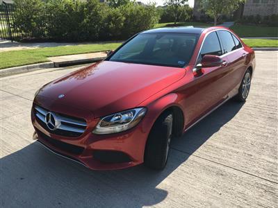 2017 Mercedes-Benz C-Class lease in Prosper,TX - Swapalease.com