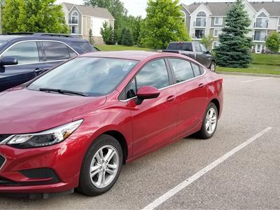 2017 Chevrolet Cruze lease in Belleville,MI - Swapalease.com