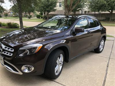 2018 Mercedes-Benz GLA SUV lease in Sugar Land,TX - Swapalease.com