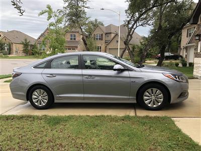 2016 Hyundai Sonata Hybrid lease in Austin,TX - Swapalease.com