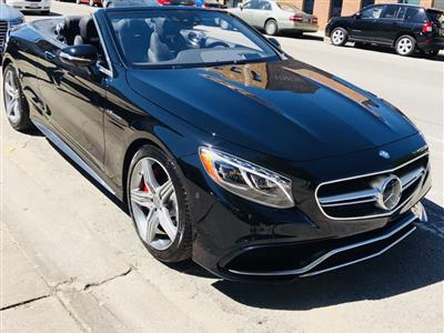 2017 Mercedes Benz S Cl Cabriolet Lease In Chicago Il Swapalease