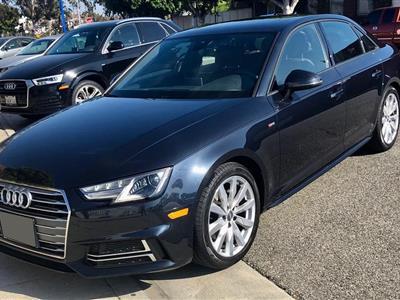 2018 Audi A4 lease in Santa Monica,CA - Swapalease.com