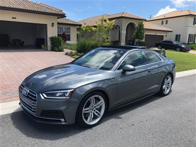 2018 Audi A5 Coupe lease in Lake Worth ,FL - Swapalease.com
