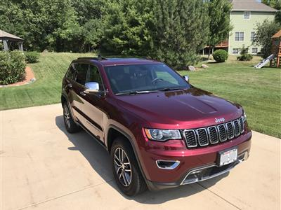 2017 Jeep Grand Cherokee lease in Racine,WI - Swapalease.com