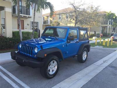 2016 Jeep Wrangler Lease In Fort Lauderdale,FL   Swapalease.com