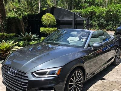 2018 Audi A5 Cabriolet lease in Miami,FL - Swapalease.com