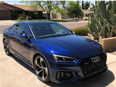 2018 Audi RS 5 lease in Scottsdale,AZ - Swapalease.com