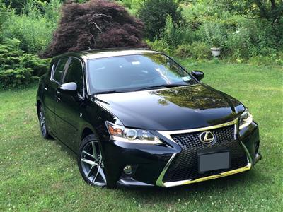 2016 Lexus CT 200h F Sport lease in New York,NY - Swapalease.com