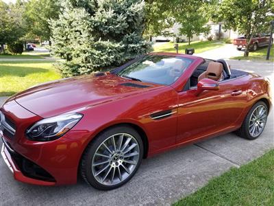 2018 Mercedes-Benz SLC Roadster lease in Lexington,KY - Swapalease.com