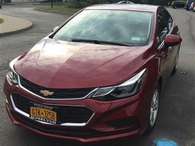 2017 Chevrolet Cruze lease in Rochester,NY - Swapalease.com