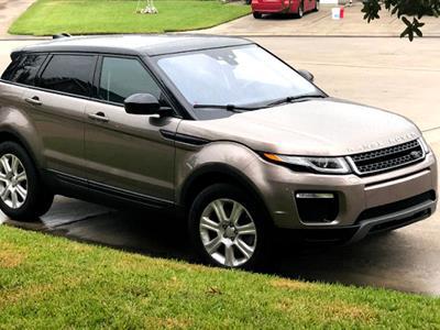 2017 Land Rover Range Rover Evoque lease in Houston,TX - Swapalease.com