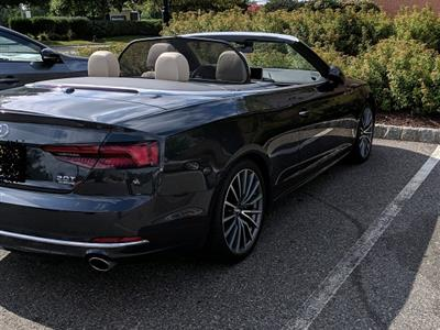 2018 Audi A5 Cabriolet Lease In Morganville Nj Swapalease Com