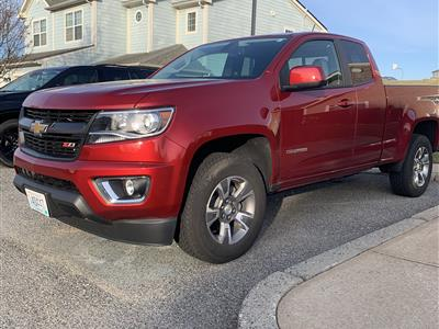 2018 Chevrolet Colorado lease in Middletown,RI - Swapalease.com