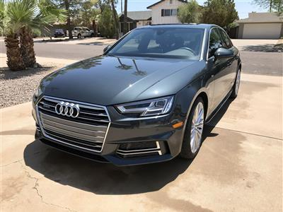 2017 Audi A4 lease in Scottsdale,AZ - Swapalease.com