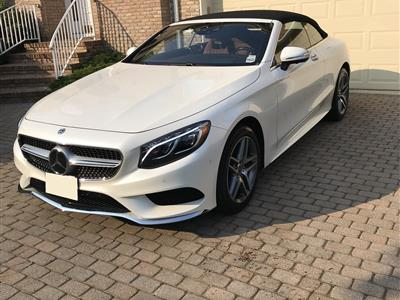 2017 Mercedes Benz S Cl Cabriolet Lease In Holmdel Nj Swapalease