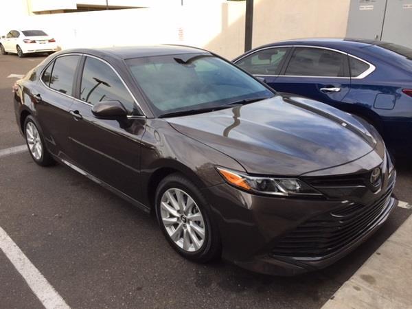 2018 Toyota Camry Lease Transfer In Phoenix Az