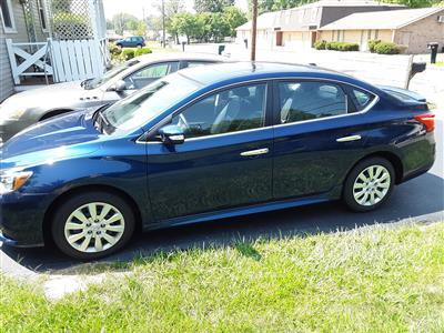 2017 Nissan Sentra lease in Cincinnati,OH - Swapalease.com