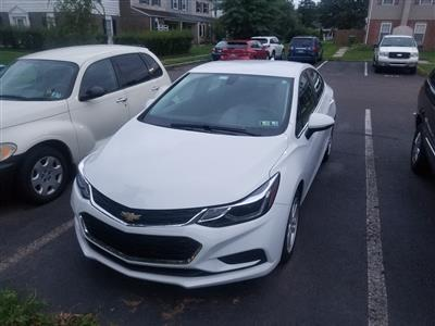 2016 Chevrolet Cruze lease in Quakertown,PA - Swapalease.com