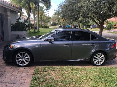 2016 Lexus IS 200t lease in Plantation,FL - Swapalease.com
