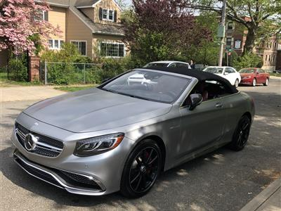 2017 Mercedes-Benz S-Class Cabriolet lease in Bayside,NY - Swapalease.com