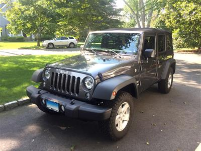 2017 Jeep Wrangler Unlimited lease in riverside,CT - Swapalease.com