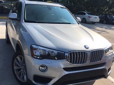2017 BMW X3 - Lease