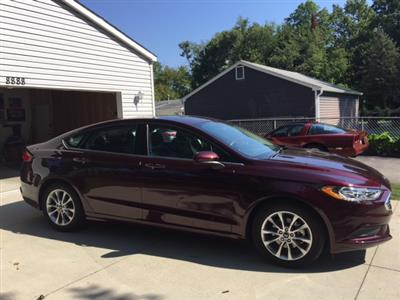 2017 Ford Fusion lease in Commerce Township,MI - Swapalease.com