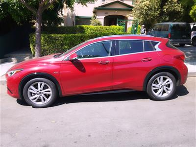 2017 Infiniti QX30 lease in West Hollywood,CA - Swapalease.com