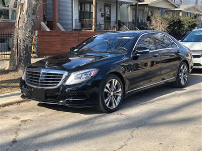 2016 Mercedes-Benz S-Class lease in Chicago,IL - Swapalease.com