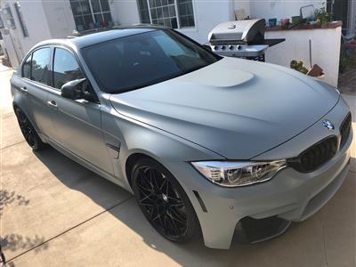 2016 BMW M3 - Lease