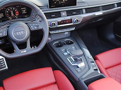 2018 Audi S5 Cabriolet lease in San Franciscoo,CA - Swapalease.com