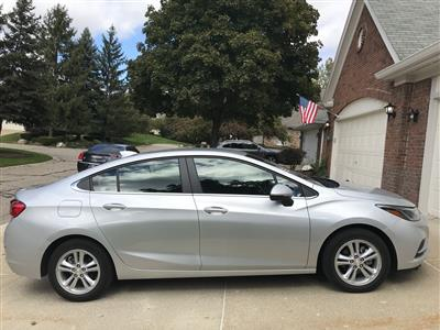 2018 Chevrolet Cruze lease in Northville,MI - Swapalease.com