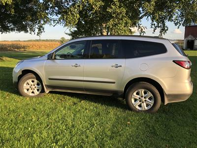 2017 Chevrolet Traverse lease in Pinconning,MI - Swapalease.com