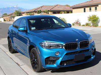 2018 BMW X6 M lease in Palm Springs,CA - Swapalease.com