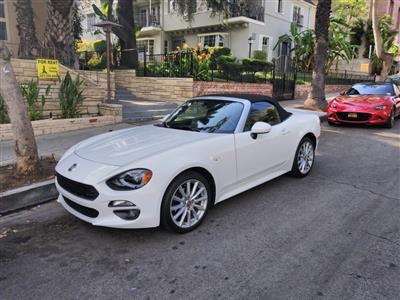 2017 Fiat 124 Spider lease in West Hollywood,CA - Swapalease.com