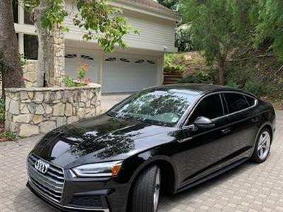2018 Audi A5 Sportback lease in Rancho Palos Verdes,CA - Swapalease.com