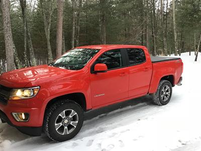 2018 Chevrolet Colorado lease in Minocqua,WI - Swapalease.com
