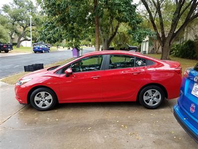 2016 Chevrolet Cruze lease in Austin,TX - Swapalease.com