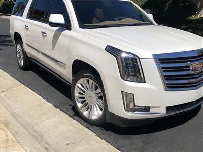 2017 Cadillac Escalade ESV lease in Costa Mesa,CA - Swapalease.com