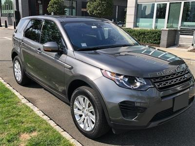 2017 Land Rover Discovery Sport lease in Edgewater,NJ - Swapalease.com