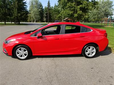 2017 Chevrolet Cruze lease in Lancaster,NY - Swapalease.com