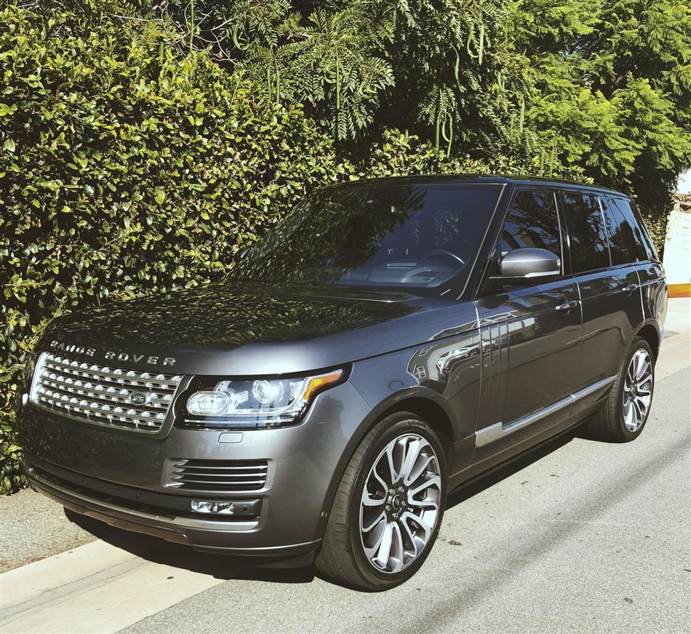 2016 Land Rover Range Rover Lease In Manhattan Beach, CA