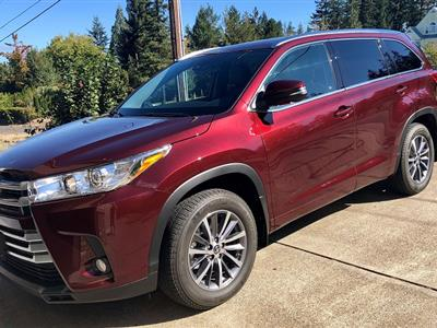 2018 Toyota Highlander lease in Albany,OR - Swapalease.com